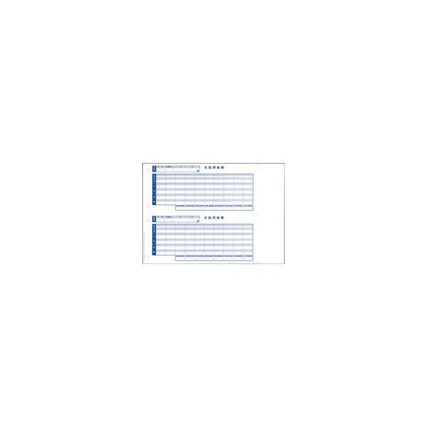 オービック:奉行シリーズ用専用 単票給与明細書 6101  370854