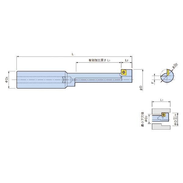 大昭和精機:BFカッター ST32-BFM27/43-95