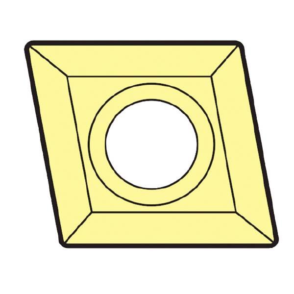 大昭和精機:スローアウェイチップ CCMM120408EFMAC700G