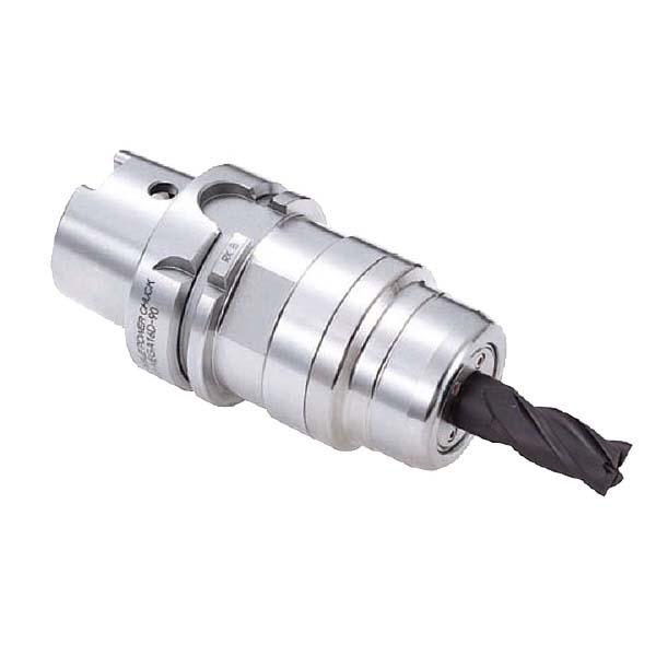 大昭和精機:メガダブルパワーチャック HSK-A63-MEGA25D-100A 切削 電動工具
