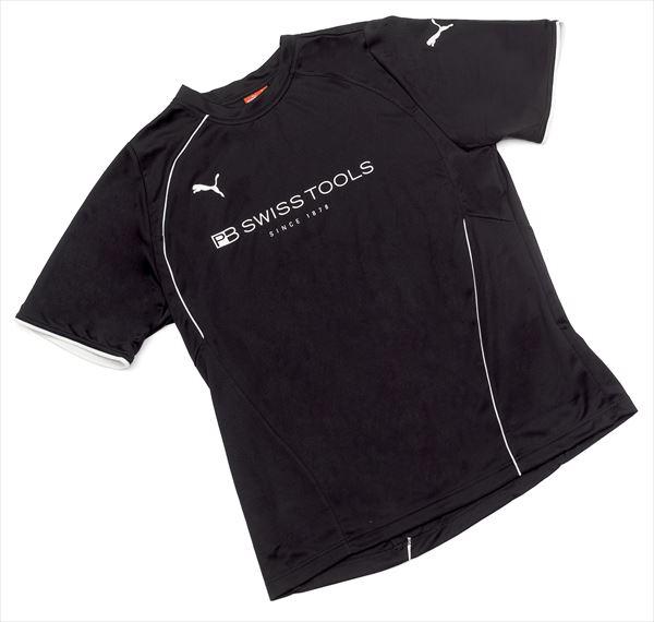PB SWISS TOOLS(PBスイスツールズ):PBスイスツール プーマTシャツ (L) ブラック 2751L-BK