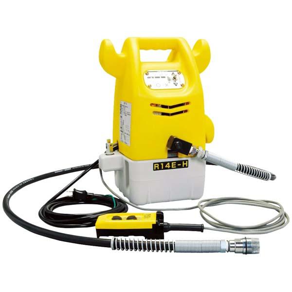 【代引不可】泉精器製作所:油圧ポンプ リモコン式(ホースなし) R14E-A