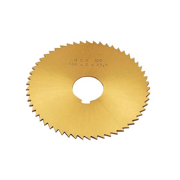 岡崎精工:TINメタルソー150×2.6×25.4 TMST150X026