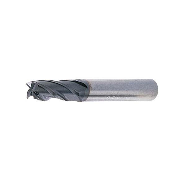岡崎精工:OKコート超硬ソリッドエンドミル(4枚刃)10 SED4A100
