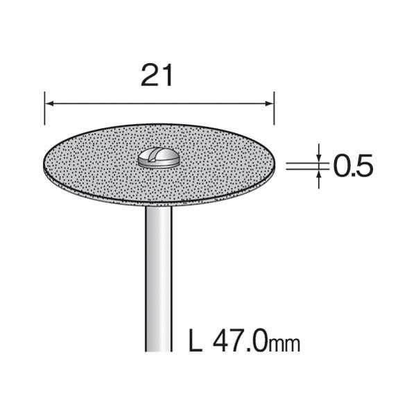 ミニター:(#A5514)メタルボンドダイヤディスク 22 (1コ) MC1313