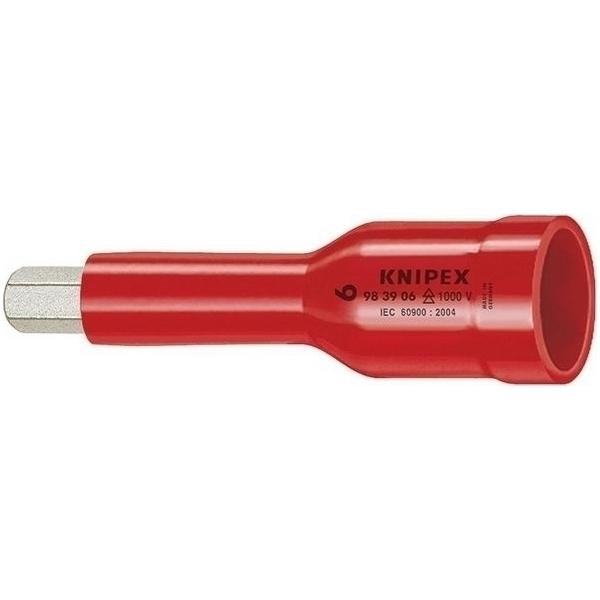 KNIPEX(クニペックス):(3/8SQ)絶縁ヘキサゴンソケット 1000V 9839-05