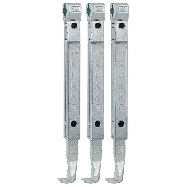 KUKKO(クッコ):30-1・30-10用ロングアーム 250MM(3本組) 1-250-S