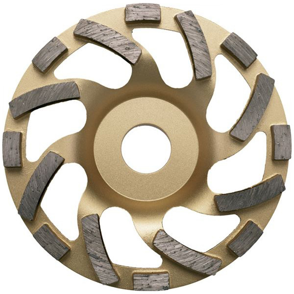 DIEWE(ディーベ):ユニバーサルゴールド カップホイール 100MM 39253