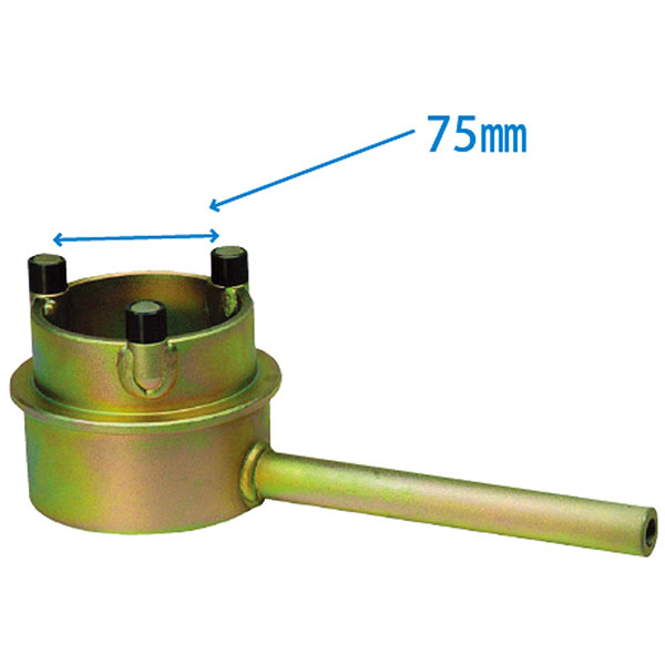 ラグナ:クランクシャフト固定レンチ 75mm JTC1011