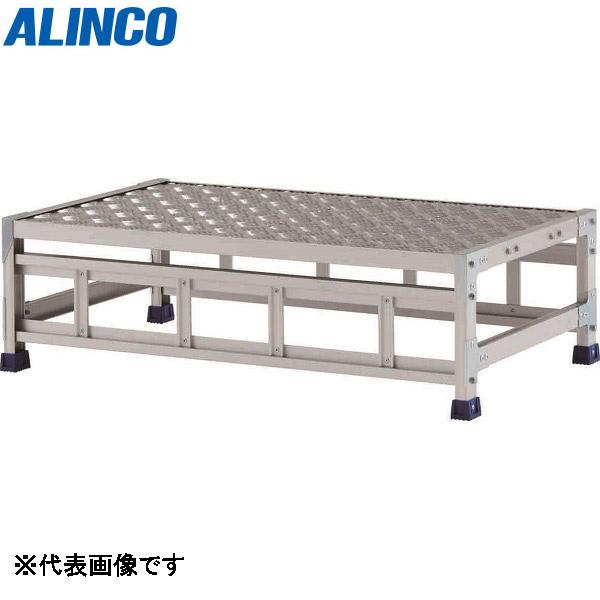 アルインコ:ステンレス金具仕様作業台(天板縞板タイプ) 1段 CMT 天板高さ 300mm CMT133WS