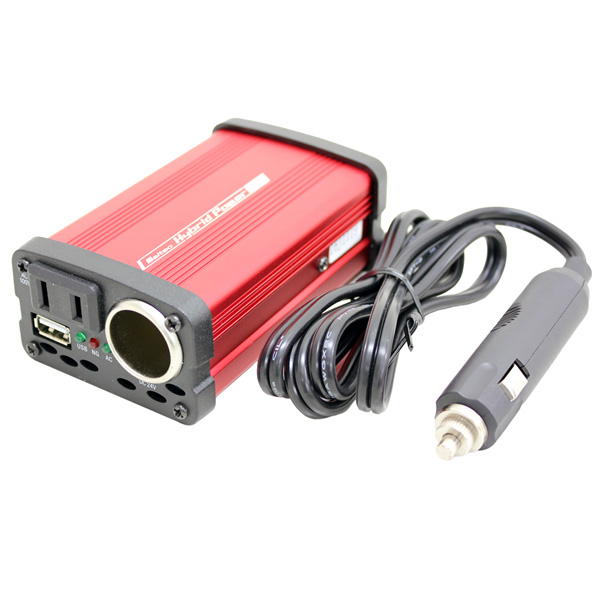 カー用品 インバーター USB 充電 パソコン DC24V 4906918173620 Meltec 激安挑戦中 アクセサリーソケット SIV-81 USBポート 静音タイプ 贈与 80WDC24V用AC100V :3WAYインバーター メルテック