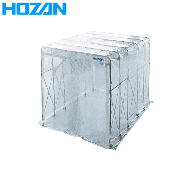 HOZAN(ホーザン):遮蔽ブース Z-902 間仕切り 業務用 工場 埃 飛散 防止