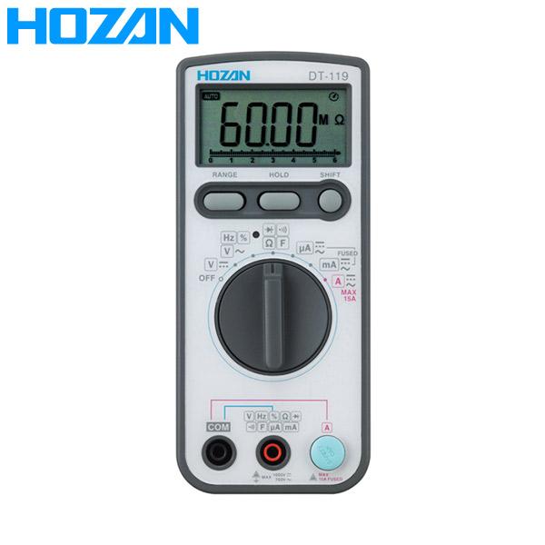 HOZAN(ホーザン):デジタルマルチメータ DT-119-TA