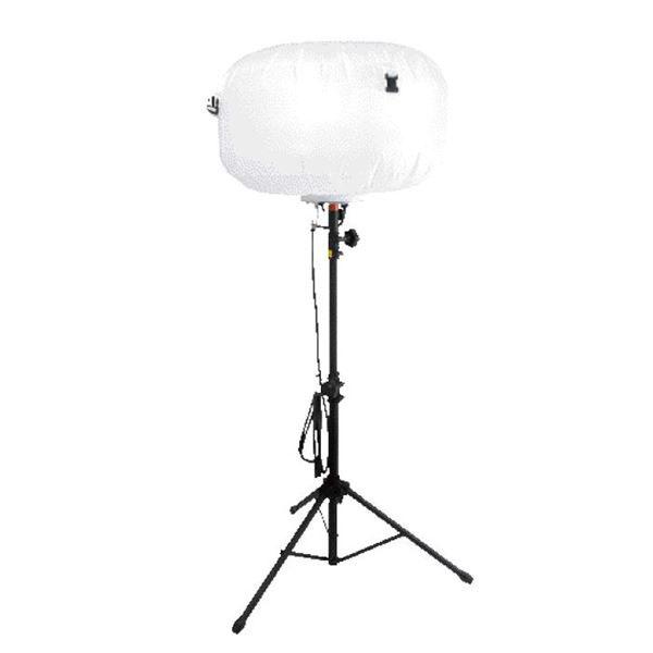 【代引不可】イチネンMTM(旧イチネンミツトモ):バルーン型投光器 100W 87211