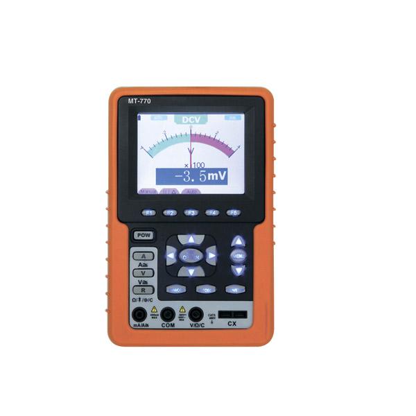 マザーツール:フルカラーハンディタイプ2現象オシロ+4000カウントDMM MT-770