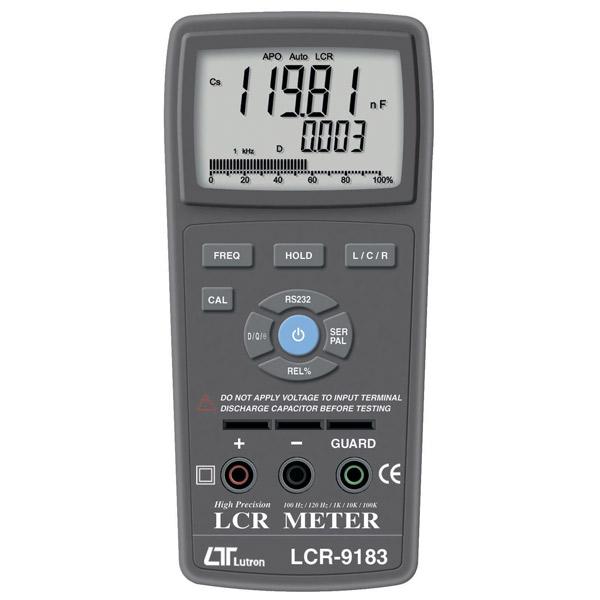 マザーツール:ハンディタイプスマートLCRメータ LCR-9183