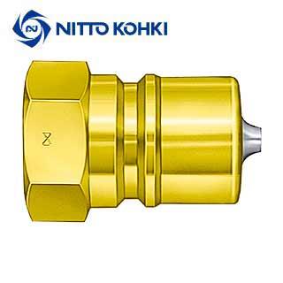 日東工器:SPカプラ (真鍮)TYPE-A プラグ(おねじ取付用) 12P-A (BSBM) エアー ツール