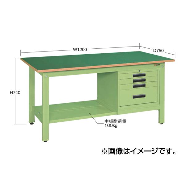 SAKAE(サカエ):軽量作業台KKタイプ SVEキャビネット付 KK-49FSVE5