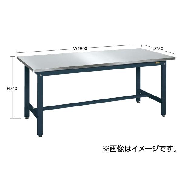 【代引不可】SAKAE(サカエ):軽量作業台KKタイプ・ステンレス天板仕様 KK-189SU4DN