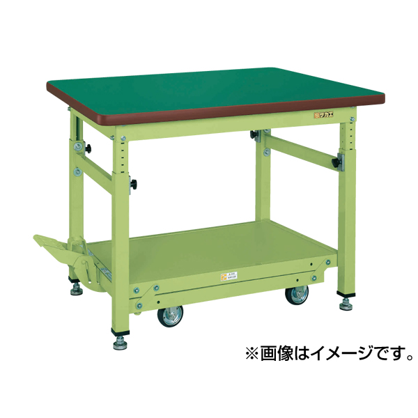 人気新品入荷 SAKAE(サカエ):ペダル昇降移動式作業台・重量TKWタイプ TKW-188FD:イチネンネット-DIY・工具