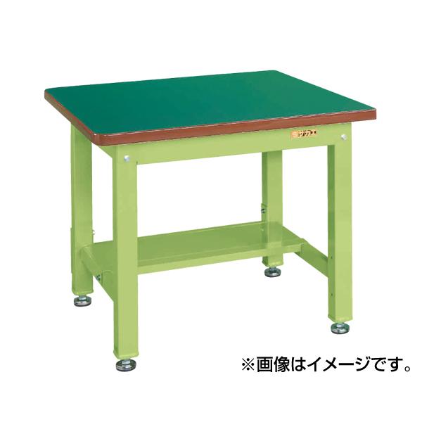 SAKAE(サカエ):重量作業台KWタイプ中板1枚付 KWS-098T