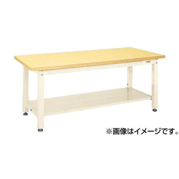 【代引不可】SAKAE(サカエ):重量作業台KWタイプ中板2枚付 KWG-128T1I