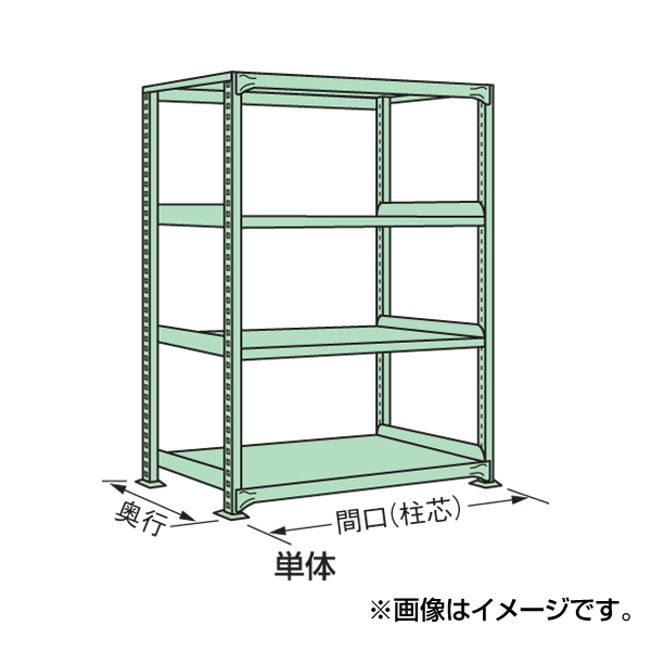 【代引不可】SAKAE(サカエ):中量棚B型 B-1565