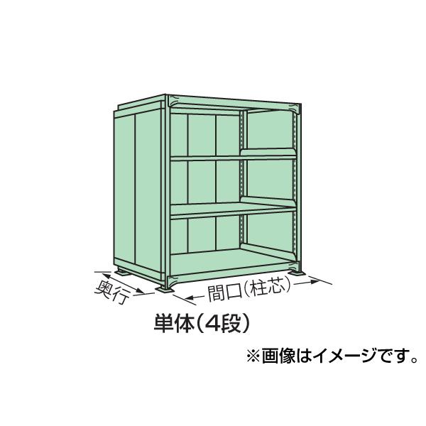 【代引不可】SAKAE(サカエ):中量棚PB型パネル付 PB-8154