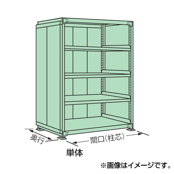 【代引不可】SAKAE(サカエ):中量棚PB型パネル付 PB-1554