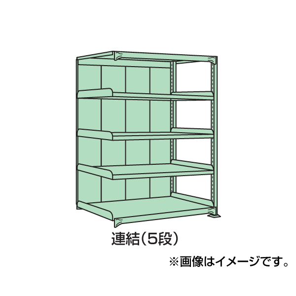 【代引不可】SAKAE(サカエ):中量棚PB型パネル付 PB-1345R