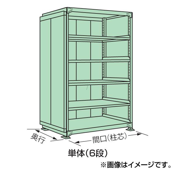 【代引不可】SAKAE(サカエ):中量棚PB型パネル付 PB-2146