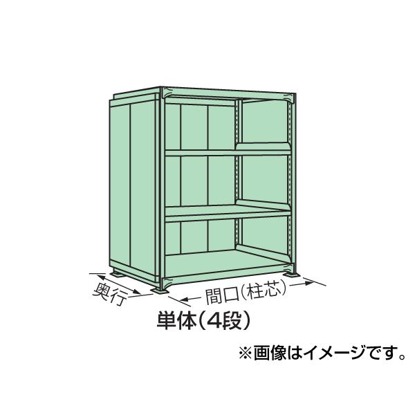 【代引不可】SAKAE(サカエ):中量棚PB型パネル付 PB-9724