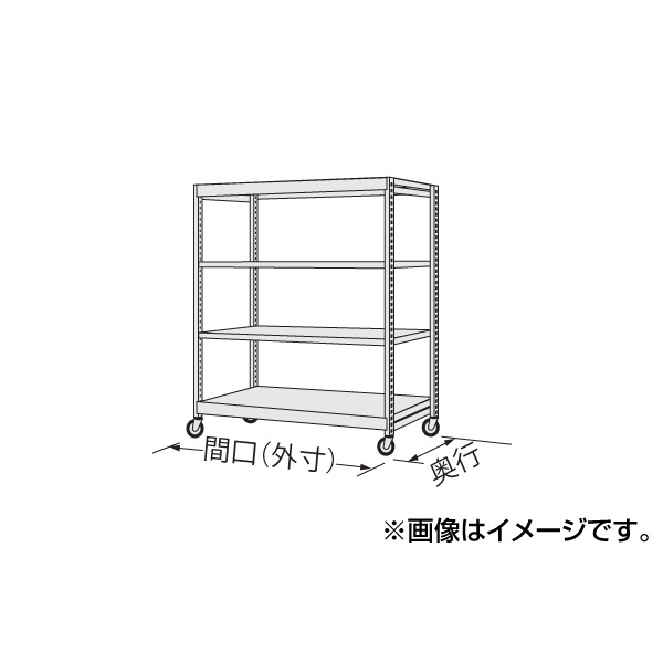 【代引不可】SAKAE(サカエ):中軽量キャスターラック NSR-8523WGJ