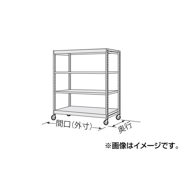 【代引不可】SAKAE(サカエ):中軽量キャスターラック NSR-8743WGJ