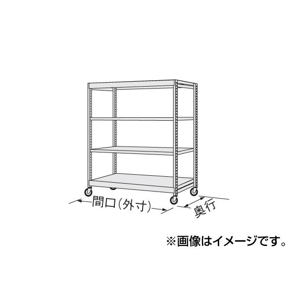 【代引不可】SAKAE(サカエ):中軽量キャスターラック NSR-8124WGK
