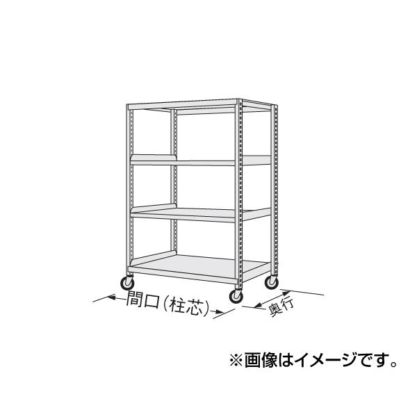 【代引不可】SAKAE(サカエ):中量キャスターラック NKR-9744WGJ
