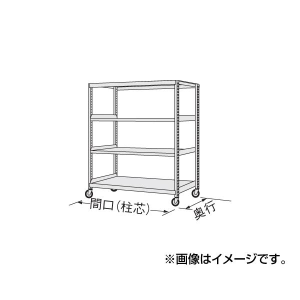 【代引不可】SAKAE(サカエ):中量キャスターラック NKR-8124WUJ