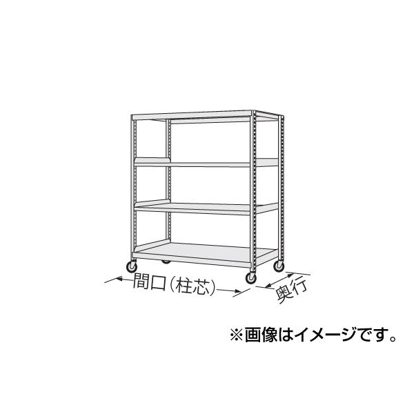 【代引不可】SAKAE(サカエ):中量キャスターラック NKR-8154WGK