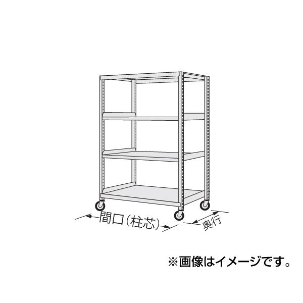 【代引不可】SAKAE(サカエ):中量キャスターラック NKR-9554WGK