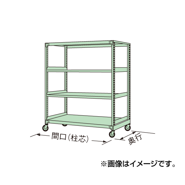 【代引不可】SAKAE(サカエ):中量キャスターラック MK-8324U
