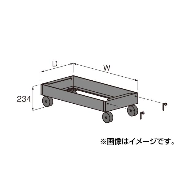 【代引不可】SAKAE(サカエ):中量ラックキャリー C-50支柱タイプ MD1590G
