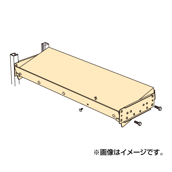 【代引不可】SAKAE(サカエ):傾斜棚板セット MS1260KT