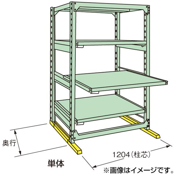 【代引不可】SAKAE(サカエ):中量スライドラック MSR1812K04T