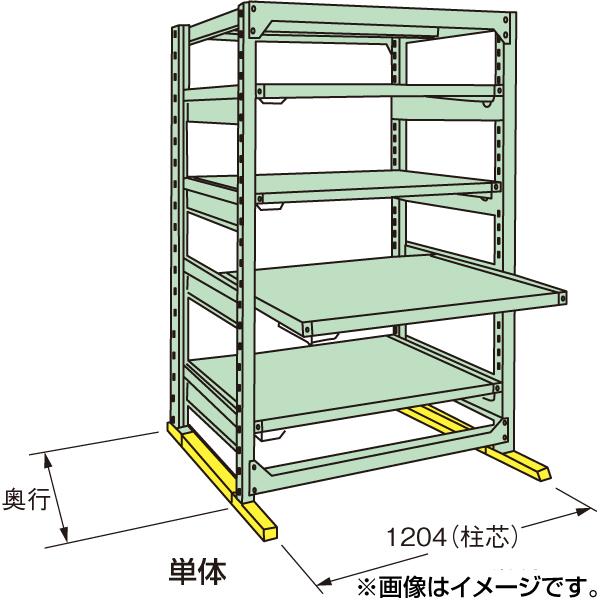 【代引不可】SAKAE(サカエ):中量スライドラック MSR1812L05T