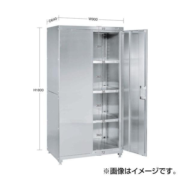 【代引不可】SAKAE(サカエ):ステンレス保管庫 PNH-9063SU4
