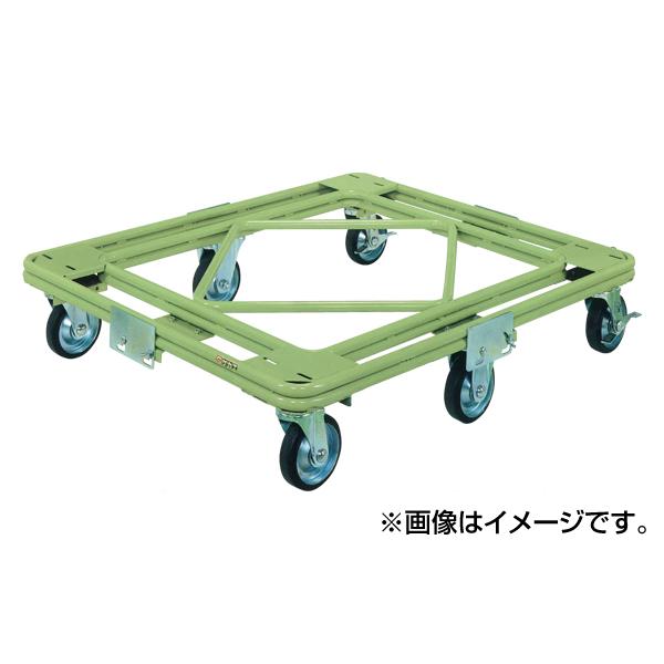独創的 SAKAE(サカエ):自在移動回転台車 RH-2G:イチネンネット 重量型 標準タイプ-DIY・工具