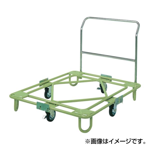 SAKAE(サカエ):自在移動回転台車 中量型 取手付タイプ RB-5TG