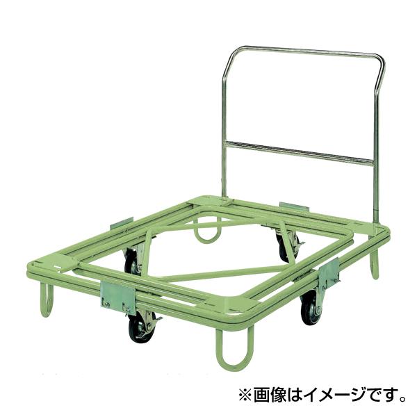 【代引不可】SAKAE(サカエ):自在移動回転台車 中重量型 取手付タイプ RC-5TG