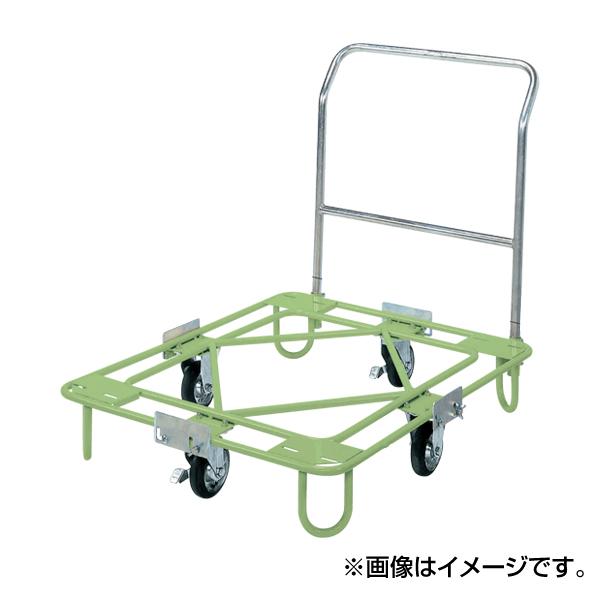 【代引不可】SAKAE(サカエ):自在移動回転台車(取手付タイプ) RA-3TG