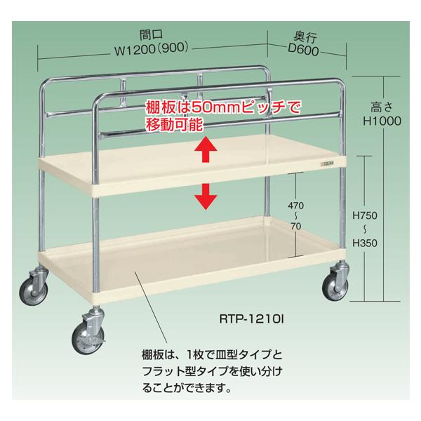 【代引不可】SAKAE(サカエ):長尺物運搬車(2段仕様) RTP-1210I